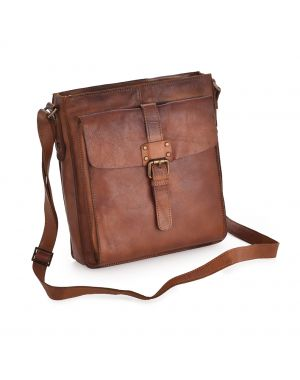 Shoreditch Leather Body Bag Leather Bags
