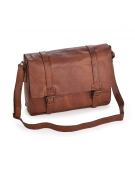 Shoreditch Leather Satchel