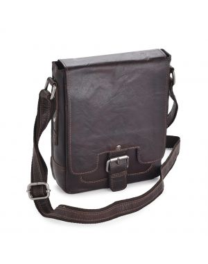 Brown Leather Flight Bag - Kingston