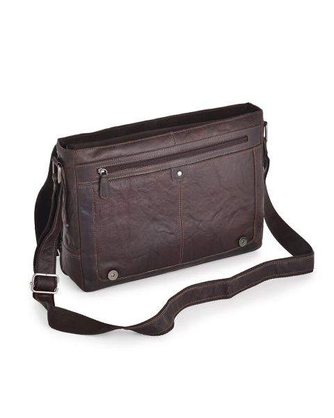 Brown Leather Laptop Bag - Kingston Leather Bags