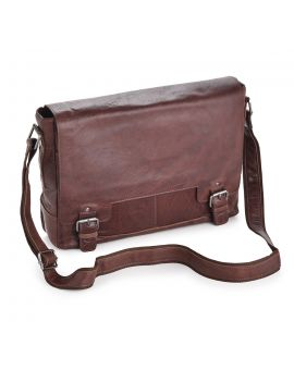 Tan Leather Laptop Bag - Kingston Leather Bags