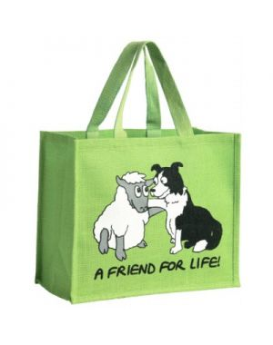 A Friend for Life Sheep Shopping Bag Bags