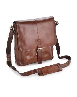 Chelsea A4 Leather Messenger Bag Leather Bags