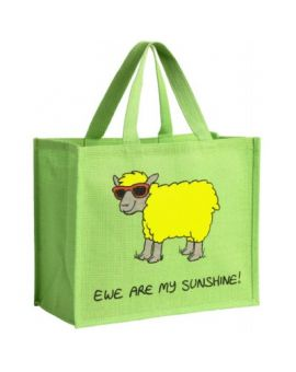 Ewe Are My Sunshine Sheep Shopping Bag