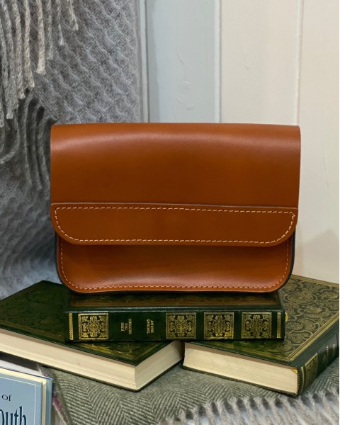 Leather Crossbody Saddle Bag Accessories