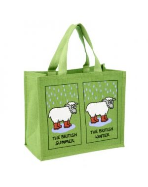 The British Weather Sheep Shopping Bag