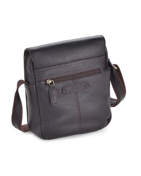 Leather Flight Bag - Jerry Leather Bags