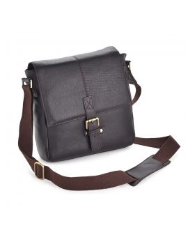 Westminster Brown Leather Bag - Murphy