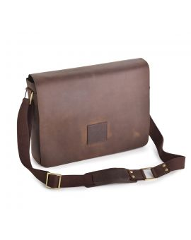 Hammersmith Leather Messenger Bag - Pedro