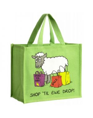 Shop Til Ewe Drop Sheep Shopping Bag Bags