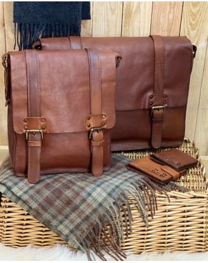 Shoreditch Leather Messenger Bag Leather Bags