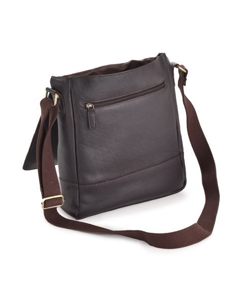Leather Messenger Bag - Hugo Leather Bags