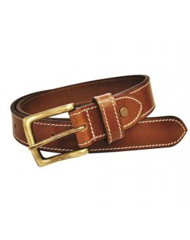 Charles Smith 30mm Stitched Tan Leather Belt Belts