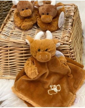 Highland Cow Baby Soother Childrens