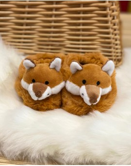 Fox Baby Slippers Childrens