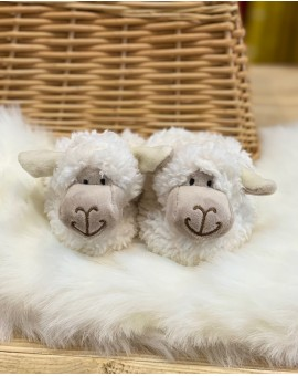 Sheep Baby Slippers Childrens