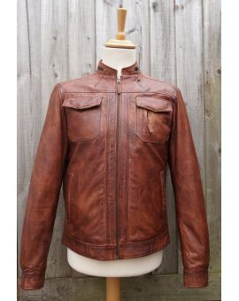 Ashwood Tan Leather Jacket Coats & Jackets