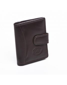 London Leather Credit Card Case - Brown Purses