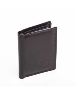 London Leather Credit Card Wallet - Brown Purses
