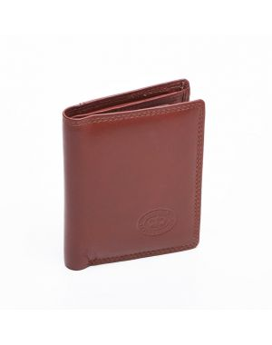 London Leather Credit Card Wallet - Tan Purses