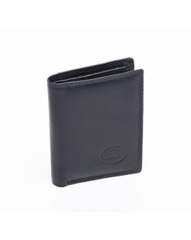 London Leather Credit Card Wallet - Navy Purses