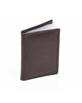 London Leather Credit Card Holder - Brown Purses