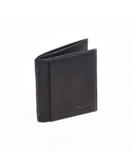 Black Leather Credit Card Wallet Wallets