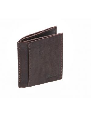 Brown Leather Credit Card Wallet Wallets