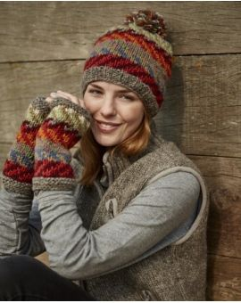 Wool Bobble Beanie - Santa Fe Gloves