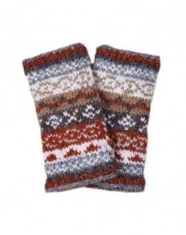 Finisterre Wool Hand Warmers - Grey Gloves