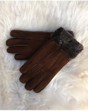 Whisky Sheepskin Gloves - Poppy Gloves