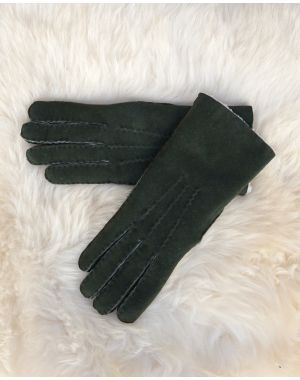 Ladies Lambskin Gloves - Green Gloves