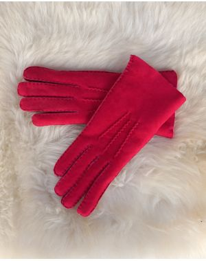 Ladies Lambskin Gloves - Pink Gloves
