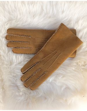 Ladies lambskin Gloves - Tan Gloves