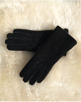 Ladies Lambskin Gloves - Black