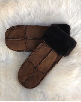 Ladies Sheepskin Mittens - Whisky Gloves