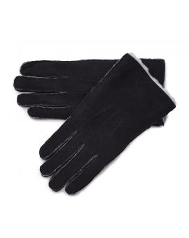 Mens Lambskin Gloves - Black Gloves & Mittens