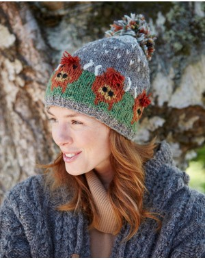 Highland Cow Bobble Beanie Accessories