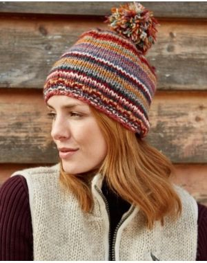 Wool Bobble Beanie - Monterey Hats & Headbands