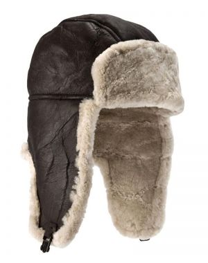 Sheepskin Flying Hat - Heydon Hats & Caps