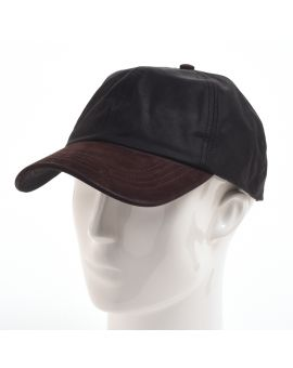 Wax Baseball Cap - Black Hats