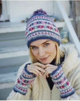 Bobble Beanie Hat - Limoges Hats & Headbands