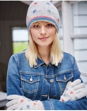Snow in Summer Wool Beanie - Oatmeal Hats & Huffs