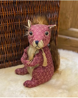 Dora Designs Doorstop - Ruby Red Squirrel