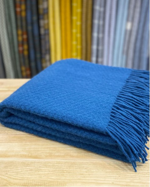 Pure New Wool Throw - Wafer Home & Living