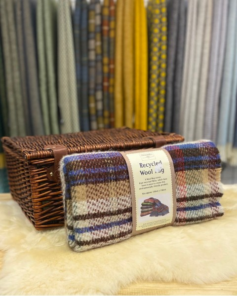 Recycled Wool Rug Home & Living