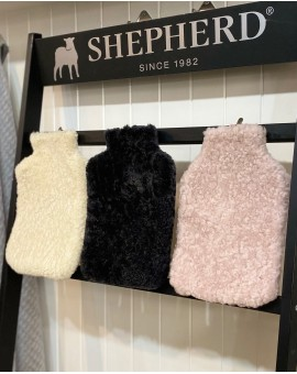 Sheepskin Hot Water Bottle Cover Home & Living