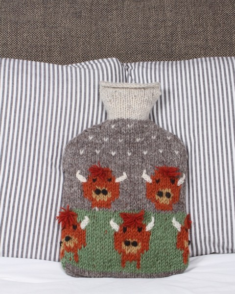 Highland Cow Hot Water Bottle Home & Living
