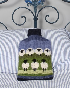 Flock Of Sheep Hot Water Bottle Home & Living