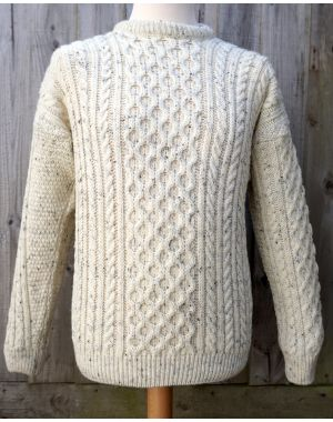 Aran British Wool Jumper Knitwear